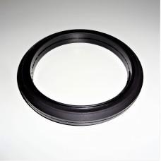 Кольцо фрикционное для снегоуборщика d100мм низкий профиль резиновое
