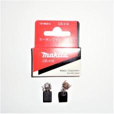 Щетки графитовые (угольные) для электроинструмента Makita CB-419 (2шт) Оригинал